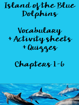 Island of the Blue Dolphins Activity Pack