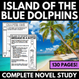 Island of the Blue Dolphins Novel Study Unit - Questions a