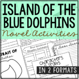 Island of the Blue Dolphins Interactive Notebook Novel Unit Study