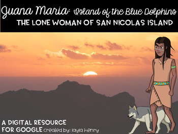 Island of the Blue Dolphins Juana Maria Digital Research R