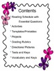 Island of the Blue Dolphins: Literacy Kit (Tests, Vocab.,