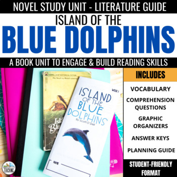 Island of the Blue Dolphins Novel Study Foldables