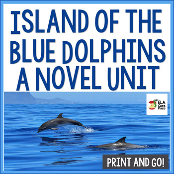 Island of the Blue Dolphins Novel Unit ~ Activities, Hando
