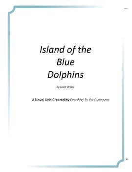 Island of the Blue Dolphins Novel Unit Plus Grammar
