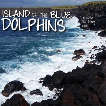 The ISLAND OF THE BLUE DOLPHINS Unit Novel Study - Literat