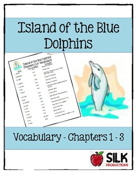 Island of the Blue Dolphins Vocabulary Chapters 1-3