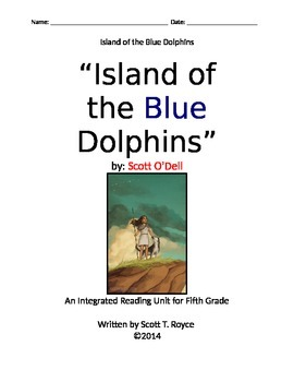"""""""Island of the Blue Dolphins"""" by Scott O'Dell - An Integra"""