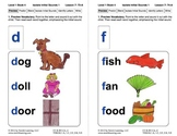 Isolate Initial Sounds 1: Lesson 7, Book 4 (Newitt Preread