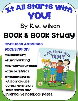 It All Starts With You Book Study: Anti-bullying Book and