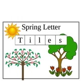 It is Spring - Letter Tiles