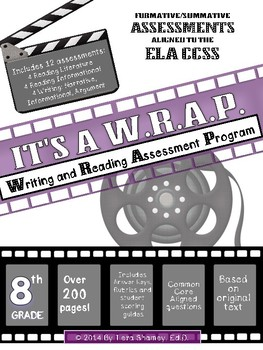It's A W.R.A.P! 8th Gr Bundle Standards Based Assessments
