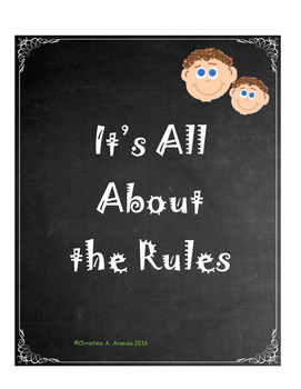 It's All About the Rules