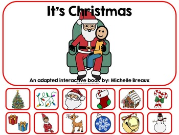 It's Christmas- Adapted Book {Autism, Early Childhood, Spe