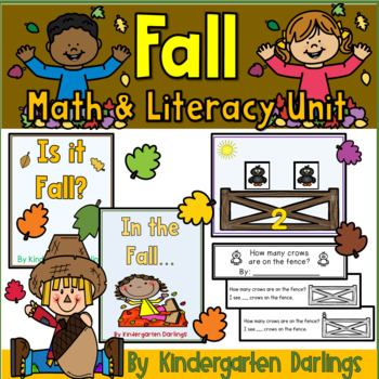 It's Fall: Y'all Math and Literacy Unit: Leaves, Pumpkins