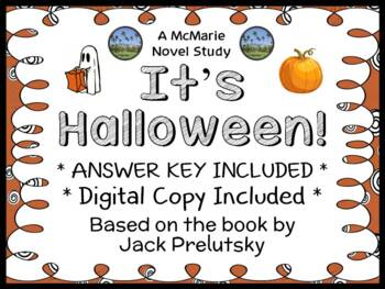 It's Halloween (Jack Prelutsky) Book Study / Reading Compr