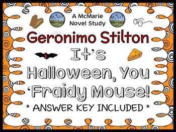 It's Halloween, You 'Fraidy Mouse! (Geronimo Stilton) Nove