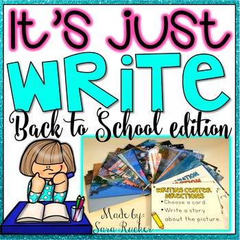 It's Just WRITE {Back to School Edition}