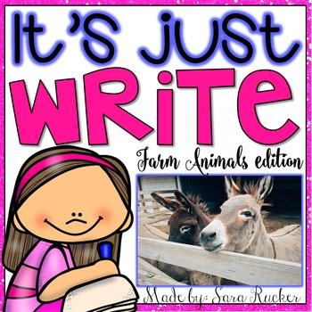 It's Just WRITE {Farm Animals Edition}