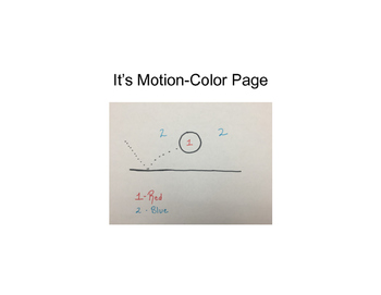 It's Motion- Color Page