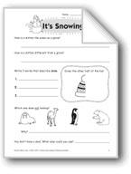 It's Snowing (Thinking Skills)