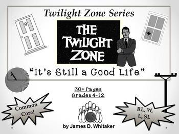 It's Still A Good Life Twilight Zone Episode Unit Resource