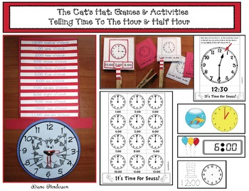 It's Time For Seuss! Telling Analog & Digital Time To The