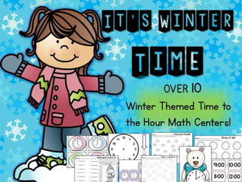 Time Math Centers
