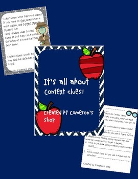 It's all about context clues!