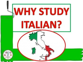 Italian Advocacy: Why Study Italian?