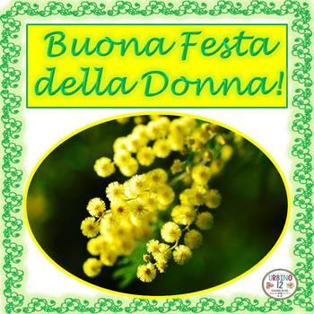 Italian: Buona Festa delle Donne