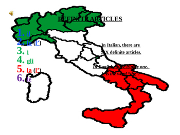 Italian Definite Articles Made Simple