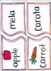 Italian Fruit and Vegetable Match and Sort (Frutta e Verdura)