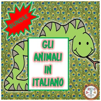 Gli Animali Italian BUNDLE