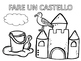 Italian: In Estate Coloring Pages