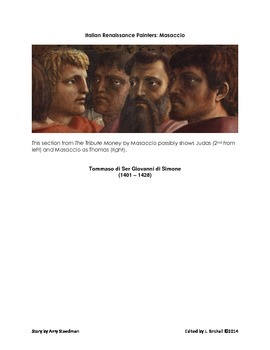 Italian Renaissance Painters: Masaccio