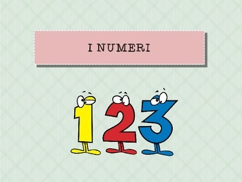 Italian numbers 1-31 powerpoint with games
