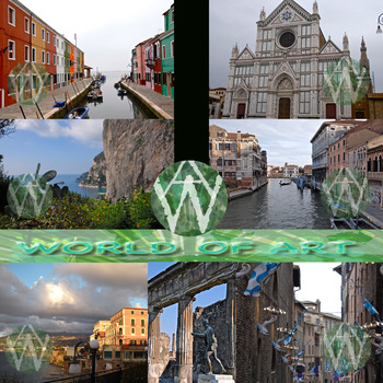 Italy: Assisi, Burano, Florence, Naples, Pompeii & Venice