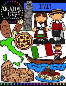 Italy {Creative Clips Digital Clipart}