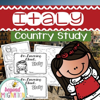 Italy Country Study | 48 Pages for Differentiated Learning
