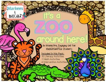 It's A Zoo Around Here - A Literacy and Math Unit for Prim