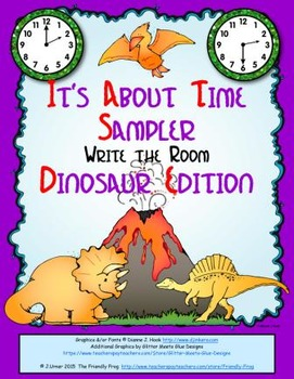 It's About Time Sampler: Write the Room (Dinosaur Edition)