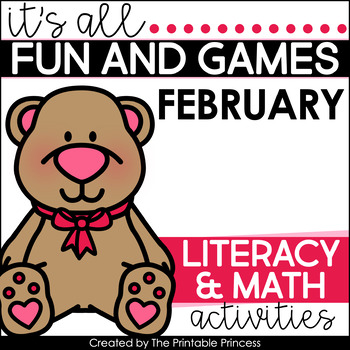 It's All Fun & Games {February Math & Literacy Activities