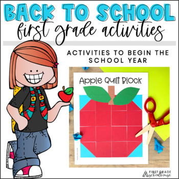 Back to School First Grade