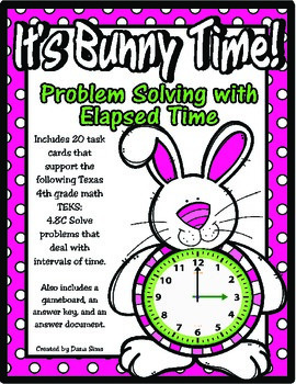 It's Bunny Time: Problem Solving with Elapsed Time