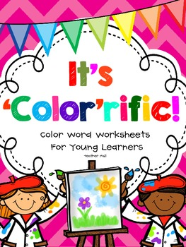 It's 'Color'rific! {Color Word Worksheets}