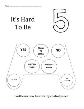 It's Hard To Be Five: Learning How To Work My Control Pane