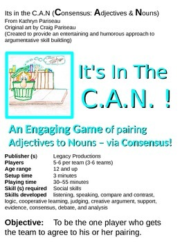 It's In  the C.A.N. - an argumentative skills development