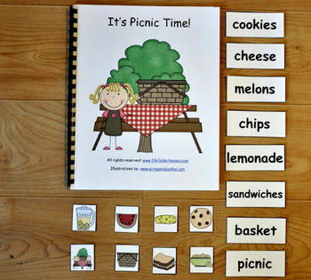 """Adapted Book--""""It's Picnic Time"""""""