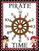 It's Pirate TIME! – Telling Time Classroom Posters Set