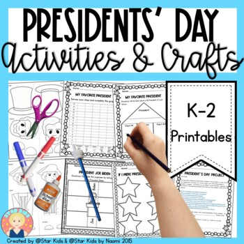 PRESIDENTS DAY - PRINT AND GO!